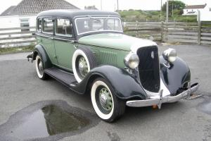 1934 PLYMOUTH PE SEDAN