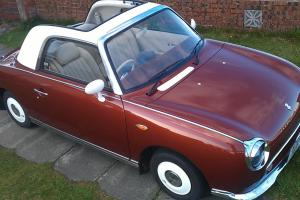 NISSAN Figaro 1.0 turbo, automatic, beauty hazel brown  Photo