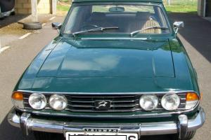 Triumph Stag Mk2 3.0ltr V8 manual with overdrive, 1978 Green