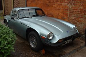 Classic Rare TVR 1600M Light Metallic Blue Sports Car
