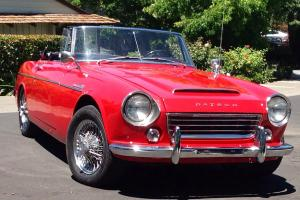 1967 Low Windshield Datsun Roadster with engine upgrade - U20 upgrade -
