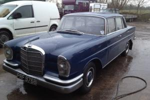 Mercedes Benz Fintail / Heckflosse W111