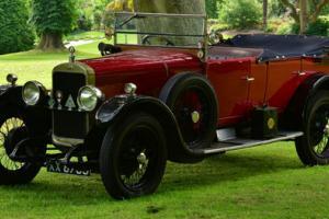 1924 Sunbeam 14/40 H.P 3 door Tourer. A stunning car.