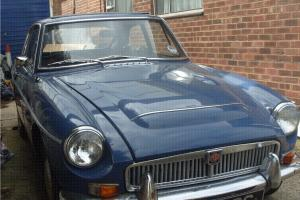 MGC GT. Mineral Blue. Automatic.