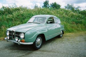 "1967 SAAB V4 ""Deluxe""  no rust, no damage, nice. with 2 barrel carb, headers."