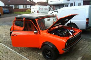 mini clubman 1973 (metro turbo) (show car) (mini world cover car)