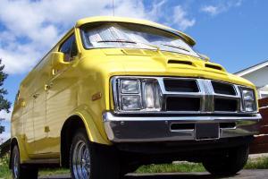 Custom Van 1977 Dodge Trademan 200 Show Van LOW RESERVE