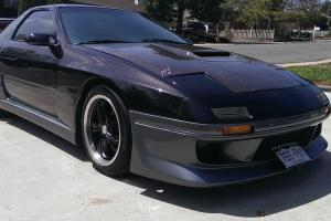 1987 Mazda RX-7 Turbo Coupe 2-Door w/ Chevy 350 V8 and 700R4 Auto Transmission