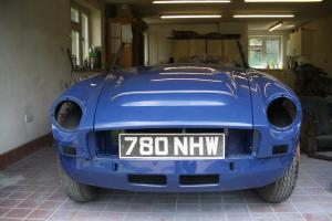 MGC Roadster-Restored Bodyshell