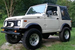 1988 Suzuki Samurai 1.9 Turbo Diesel Jeep