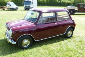 1964 MINI 850 De Luxe, just 23000 miles from new, Years MOT