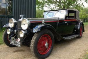 Alvis SPEED 20 DROP HEAD COUPE