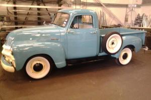 1954 chevrolet 3100 half ton pickup truck short bed,stepside hotrod,oldskool  Photo