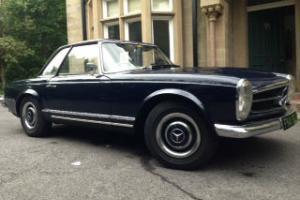 1965 Mercedes-Benz 230 SL Pagoda Manual RHD Midnight Blue with Hardtop