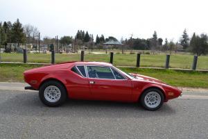 1972 DeTomaso Pantera: Stock, 16.6K Original Miles