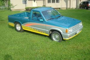 1987 Mazda B2000 Pro Street Fast Tubbed Turbo Mini Truck