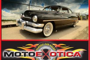 1951 MERCURY COUPE-FRESH RESTO-AWESOME CHROME IN THE ENGINE BAY-BUILT WELL!!!
