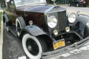 1928 PHANTOM 1 ROLLS ROYCE SPRINGFIELD AND BREWSTER ELEGANT TOWN CAR Photo