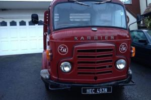 Commer Karrier Bantam Flat Bed Lorry, Classic Truck, Vintage Truck/Commercial  Photo