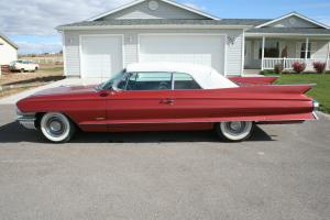 1961 61 Cadillac Series 62 Convertible