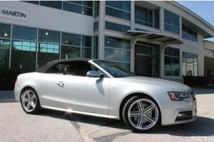2013 Audi S5 Cabriolet Prestige Pkg Navigation Carbon fiber Side assist Rear cam