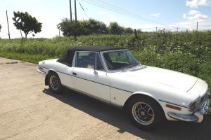 1976 White Triumph Stag Mk 2