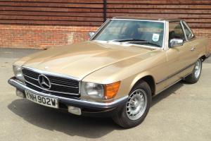 Mercedes 280sl 1981, Automatic, Original Hard