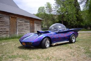 The Bubble Ray - Ed Big Daddy Roth - Bubble Top Street Rod - Life Sized HotWheel