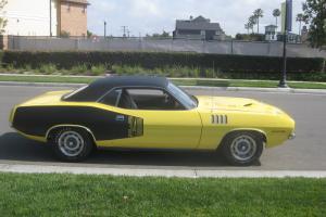 1971 Plymouth Cuda 340 4-Speed