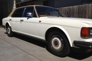 1987 Rolls Royce Silver Spur 132k White Tan, Excellent Condition! Photo