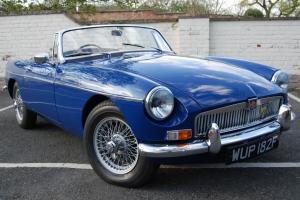 MGB Roadster, Blue, Rebuild History, VGC, Upgrades, Driving very well