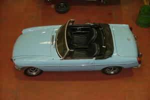 MG ROADSTER WITH CHROME BUMBERS FULLY RESTORED