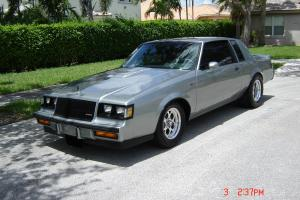 1987 BUICK LIMITED / T-TYPE