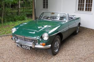 MGC Roadster One Owner From New