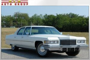 1976 Fleetwood Brougham 27,000 ORIGINAL MILES! From Famous Estate One Of A Kind!