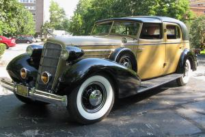 "1935 Cadillac Town Car - ""The Elizabeth Arden Car"""