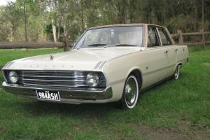 1969 VF Valiant Chrysler Mopar NO Reserve 225 Slant 6 Auto  Photo