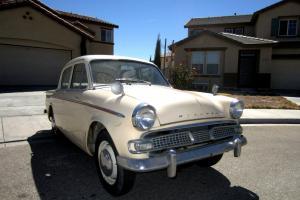 1959 British Hillman Minx Rare Project Vintage classic