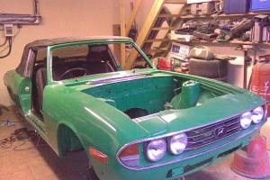 1977 Triumph Stag V8 manual, unfinished project, one of the last, rare green 85