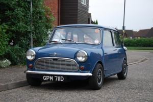 MK1 1966 BMC Morris Mini Minor Super Deluxe