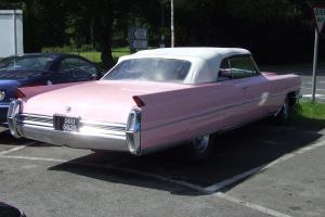 1964 CADILLAC pink
