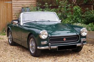 1970 MG MIDGET 1275 - BRITISH RACING GREEN - CHROME WIRE WHEELS - TAX EXEMPT