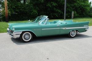 1958 Chrysler New Yorker Convertible  Amazing Original Car !