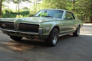 NO RESERVE, NO HIGH STARTING BID, 1968 Mercury Cougar
