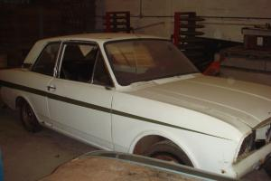 Barn Find Lotus Twincam Ford Cortina Mk2 Series 1 1968 Restoration Project