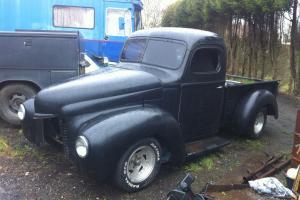 international harvester pick up truck 1947 kb1 super rare rat rod project
