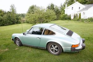 Ice Cool Metallic Green 911S Coupe For Sale(1976)
