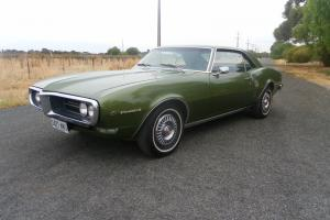 1968 Pontiac Firebird Original Condition Rust Free SA Rego Suit Camaro Monaro