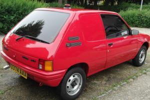CLASSIC 1986 PEUGEOT 205 XA VAN 41.000mls