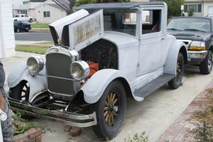 1927 Hupmobile Rumble Seat Coupe